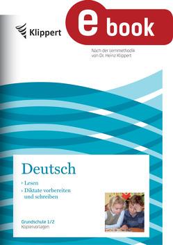 Lesen – Diktate vorbereiten und schreiben von Wetzstein,  Susanne