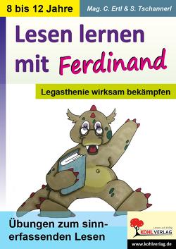 Lesen lernen mit Ferdinand von Erlt,  Claudia, Tschannerl,  Sophie