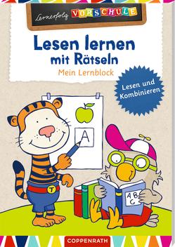 Lesen lernen mit Rätseln von Carstens,  Birgitt, Wagner,  Charlotte
