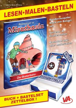 """Lesen-Malen-Basteln: Buch """"Die Skaterbahn"""" & Bastelset """"Zettelbox"""" (2) von Aretz,  Veronika"""