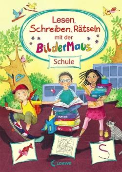 Lesen, Schreiben, Rätseln mit der Bildermaus von Gotzen-Beek,  Betina, Merle,  Katrin, von Vogel,  Maja