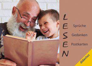 Lesen – Sprüche, Gedanken, Postkarten von Schöll,  Carmen