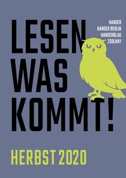Lesen, was kommt! von Hanser Literaturverlage
