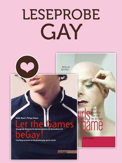 Leseprobe Gay von Bitzer,  Bernd, Bosch,  Heike, Braun,  Philipp