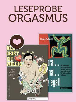 Leseprobe ORGASMUS von Gatzanis,  Jolanta, Schmidt,  Hanjo