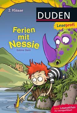 Leseprofi ─ Ferien mit Nessie, 2. Klasse von Bertrand,  Fréderic, Stehr,  Sabine