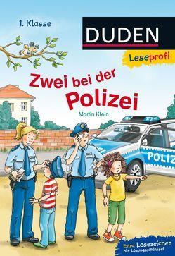 Leseprofi – Zwei bei der Polizei, 1. Klasse von Klein,  Martin, Wieker,  Katharina