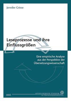 Leseprozesse und ihre Einflussgrößen von Griese,  Jennifer