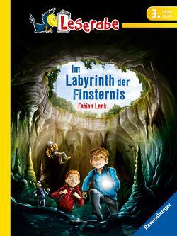 Leserabe: Im Labyrinth der Finsternis von Grubing,  Timo, Lenk,  Fabian