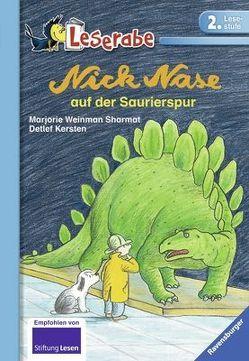 Nick Nase auf der Saurierspur von Kersten,  Detlef, Stohner,  Friedbert, Weinman Sharmat,  Marjorie