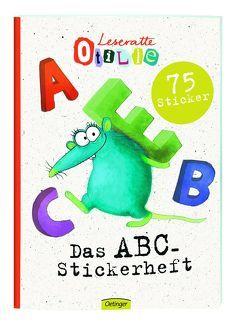 Leseratte ABC Stickerheft von Rauers,  Wiebke
