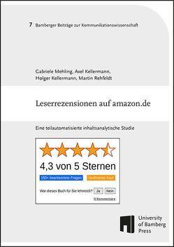 Leserrezensionen auf amazon.de von Kellermann,  Axel, Kellermann,  Holger, Mehling ,  Gabriele, Rehfeldt,  Martin