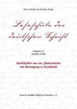 Leseschule der deutschen Schrift von Blohm,  Hanno, Bracke,  Gerhard