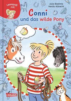 Lesespaß mit Conni: Conni und das wilde Pony von Albrecht,  Herdis, Boehme,  Julia