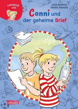 Lesespaß mit Conni: Conni und der geheime Brief (Zum Lesenlernen) von Albrecht,  Herdis, Boehme,  Julia