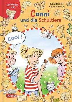 Lesespaß mit Conni: Conni und die Schultiere von Albrecht,  Herdis, Boehme,  Julia