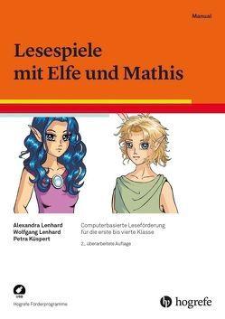Lesespiele mit Elfe und Mathis von Küspert,  Petra, Lenhard,  Alexandra, Lenhard,  Wolfgang