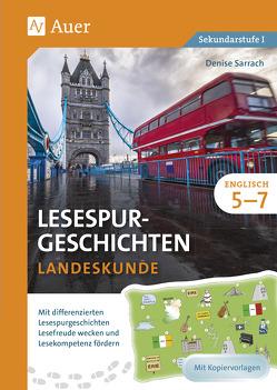 Lesespurgeschichten Englisch Landeskunde 5-7 von Sarrach,  Denise