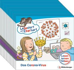 Lesestart mit Eberhart: Das Corona-Virus (VPE 25) von Brandau,  Nicole, Drecktrah,  Stefanie