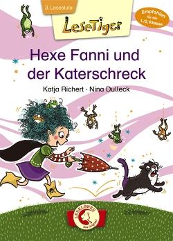 Lesetiger – Hexe Fanni und der Katerschreck von Dulleck,  Nina, Richert,  Katja