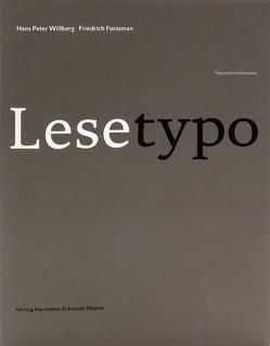Lesetypografie von Forssmann,  Friedrich, Willberg,  Hans P