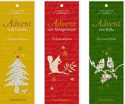 Lesezeichen-Kalender – Lesezauber im Advent