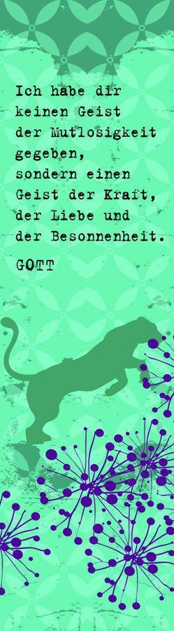 """Lesezeichen """"Lebensmutig"""" von Hinz,  Tamara"""