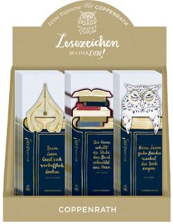 Lesezeichen mit Botschaft – BücherLiebe!