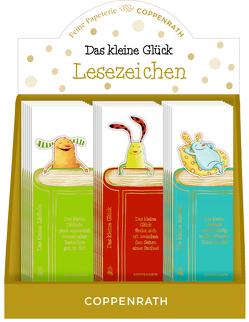 Lesezeichen mit Botschaft – Das kleine Glück von Jakobs,  Günther, Reider,  Katja