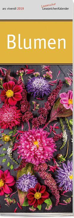 Lesezeichenkalender: Blumen 2019
