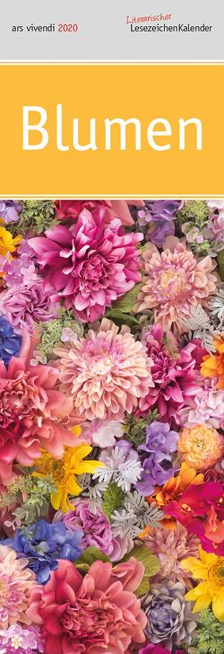 Lit. Lesezeichenkalender Blumen 2022