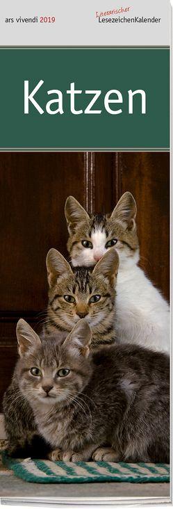 Lesezeichenkalender: Katzen 2019