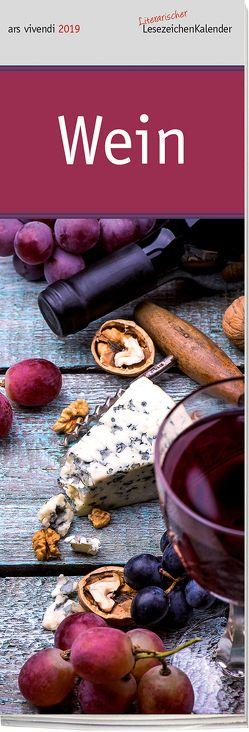 Lesezeichenkalender: Wein 2019