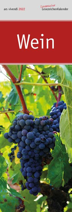 Lit. Lesezeichenkalender Wein 2022