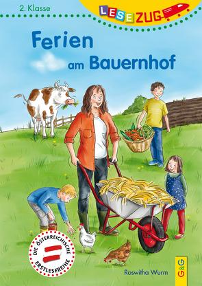 LESEZUG/2. Klasse: Ferien am Bauernhof von Reichert,  Katharina, Wurm,  Roswitha