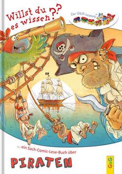 LESEZUG/Willst du es wissen? Ein Sach-Comic-Lese-Buch über Piraten von Manneh,  Lisa, Weiler,  Tatjana