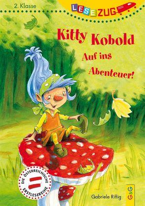 LESEZUG/2. Klasse: Kitty Kobold – Auf ins Abenteuer! von Rittig,  Gabriele, Theisen,  Martina