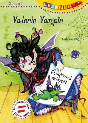 LESEZUG/2. Klasse: Valerie Vampir – Flughund vermisst von Picha,  Angela, Rittig,  Gabriele
