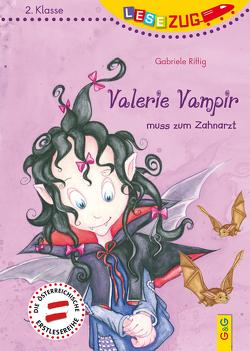 LESEZUG/2.Klasse: Valerie Vampir muss zum Zahnarzt von Picha,  Angela, Rittig,  Gabriele