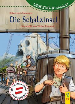 LESEZUG/Klassiker: Die Schatzinsel von Thorwartl,  Walter, Weinknecht,  Martin