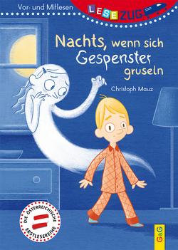 LESEZUG/Vor- und Mitlesen: Nachts, wenn sich Gespenster gruseln von Aspöck,  Ingrid, Mauz,  Christoph