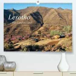 Lesotho (Premium, hochwertiger DIN A2 Wandkalender 2020, Kunstdruck in Hochglanz) von Scholz,  Frauke