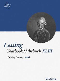 Lessing Yearbook / Jahrbuch XLIII, 2016 von Nenon,  Monika, Niekerk,  Carl