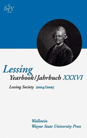 Lessing Yearbook /Jahrbuch