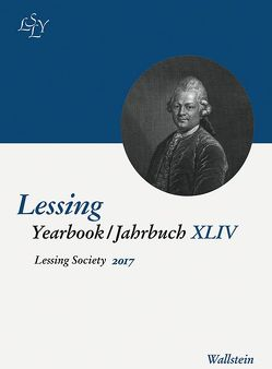 Lessing Yearbook XLIV 2017 von Nenon,  Monika, Niekerk,  Carl