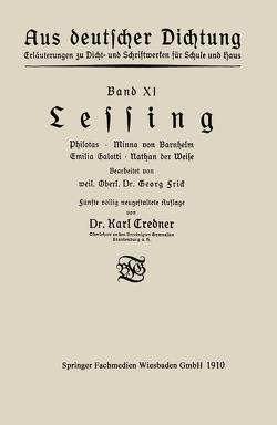 Lessing von Credner,  Karl, Frick,  Georg