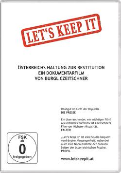 Let's keep it von Czeitschner,  Burgl