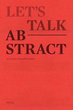 Let's talk abstract von Scharpff-Striebich,  Carolin