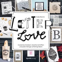Letter Love von Blume,  Katja