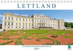 Lettland: Zauberhaftes Reisen im Baltikum (Tischkalender 2019 DIN A5 quer) von CALVENDO